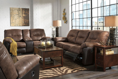 Surprising Ashley Goodlow Chocolate Power Reclining Loveseat With Short Links Chair Design For Home Short Linksinfo