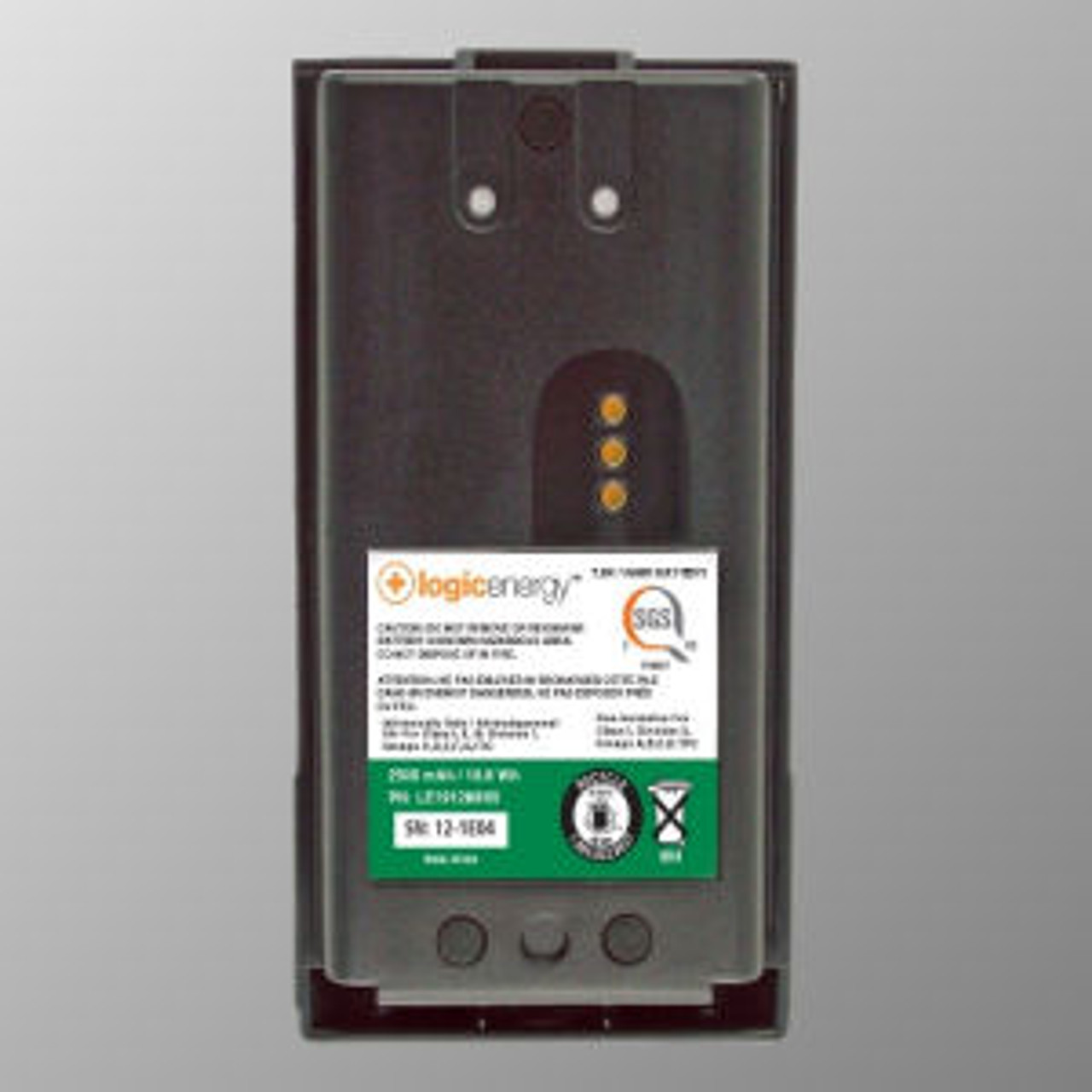M/A-Com P5200 Intrinsically Safe Battery - 2500mAh Ni-MH