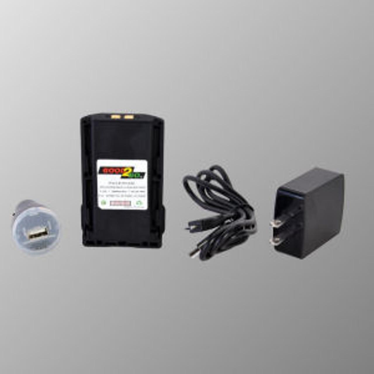 Good 2 Go Micro USB ICOM IC-A14S Battery - 2600mAh Li-Ion