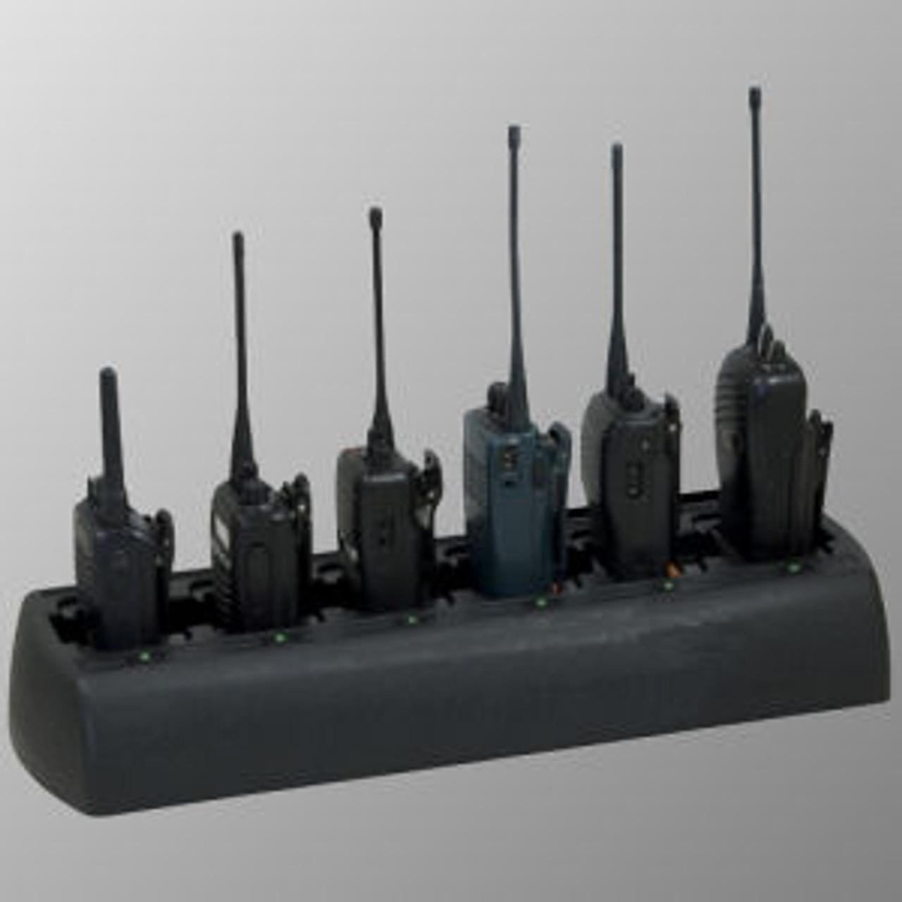 GE / Ericsson 700P Slim Line 6-Slot Lithium Drop-In Charger