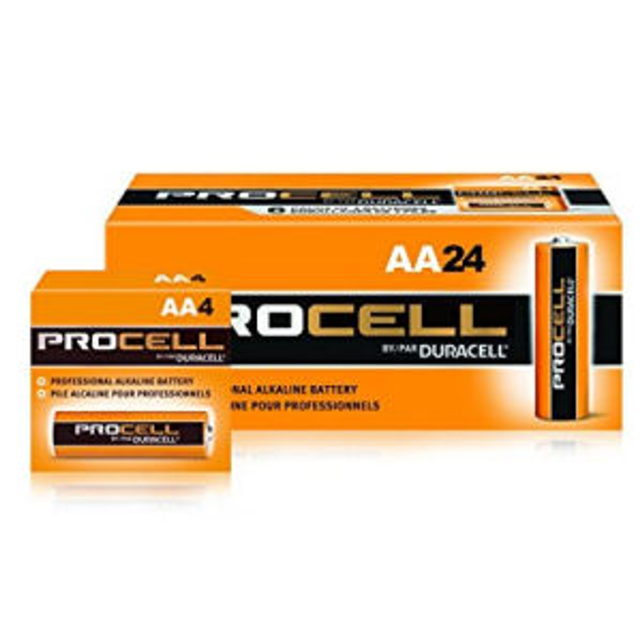 Duracell Procell AA Alkaline Cells - Box of 24
