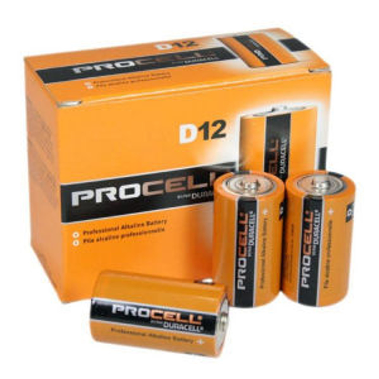 Duracell Procell D Size Alkaline Cells - Box of 12