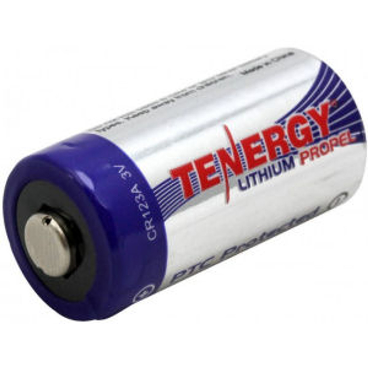 Tenergy CR123A Lithium Primary Cell - Each