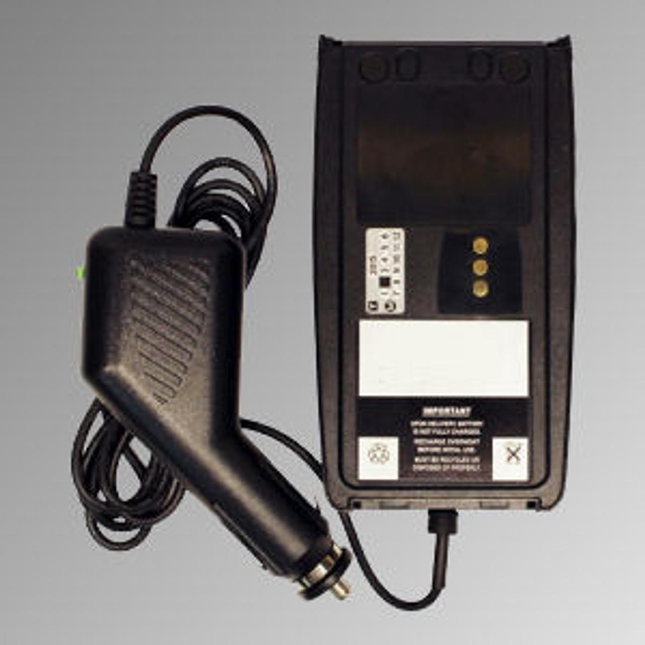 Harris XG-75 Battery Eliminator - 12VDC Cig Plug