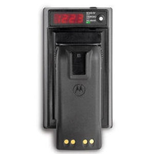 AdvanceTec Single Slot Analyzer/Conditioner For EF Johnson 5100 Series Nickel Batteries