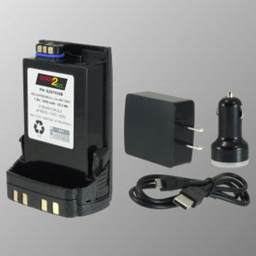 Good 2 Go Micro USB Motorola APX7000XE Battery - 2500mAh Li-Ion