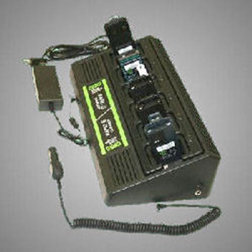Bendix King DPH 6-Slot 110VAC/12VDC Quad-Chem Drop-In Charger