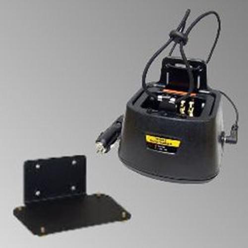 Motorola Jedi Series In-Vehicle 12V DC Single Bay Quad-Chem Drop-In Charger