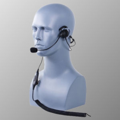 Vertex Standard EVX-531 Behind The Head Single Muff Lightweight Headset