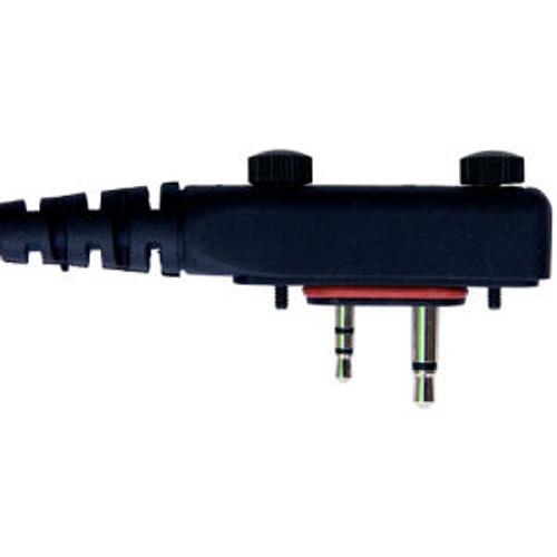 ICOM F2000D Tactical Noise Canceling Dual Acoustic Tube Headset