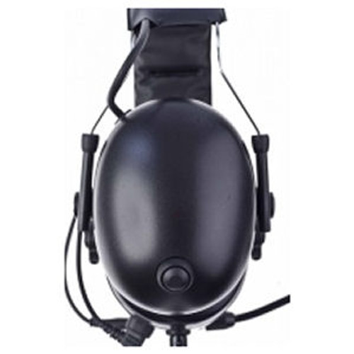 EF Johnson VP600 Federal Over The Head Double Muff Headset