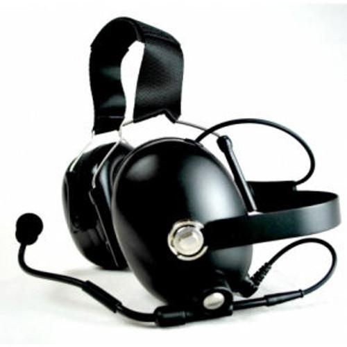 Motorola EX600 Noise Canceling Double Muff Behind The Head Headset