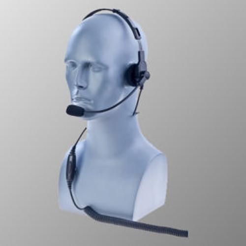 EF Johnson 5000 Series Over The Head Single Muff Lightweight Headset