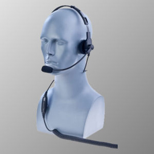 EF Johnson 5100 ES Over The Head Single Muff Lightweight Headset