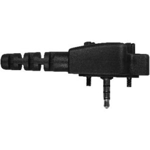 Vertex Standard VX-414 Temple Transducer Headset