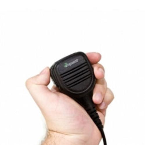 Harris P5550 Slim IP67 Ruggedized Speaker Mic.