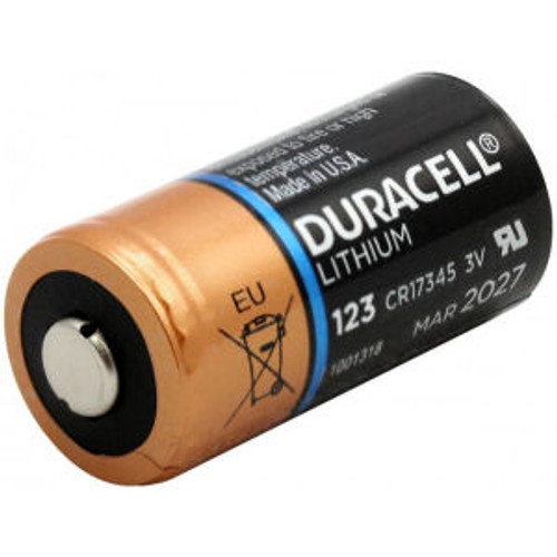 Duracell Ultra CR123A Lithium Primary Cell - Each