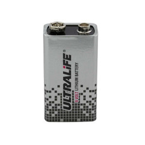 UltraLife 9V Lithium Primary Battery