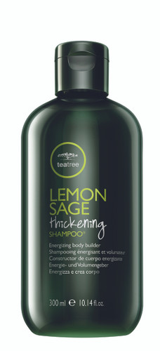 Tea Tree Lemon Sage Thickening Shampoo, 10.14oz