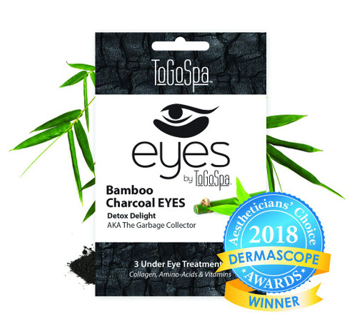 ToGoSpa Bamboo Charcoal Eyes Collagen Gel Mask