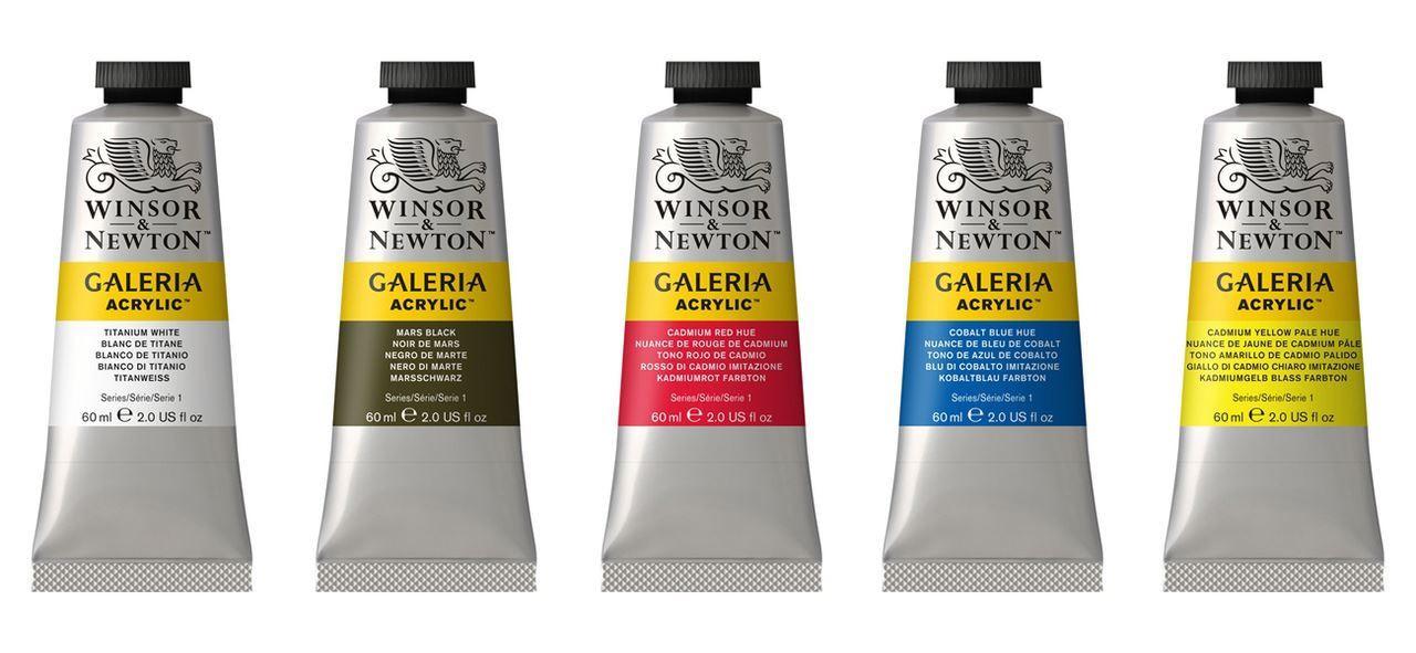 Winsor Newton Galeria Acrylic Paint 60ml Tubes