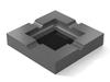 Porcelain - Super Black (Polished), Kendall Charcoal HC-166: