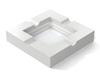 Porcelain - Super White (Polished), Chantilly Lace OC-65: