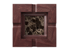 Marble - Dark Emperador (Polished), Mahogany - Clear Finish: