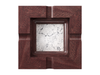 Marble - Statuarietto (Polished), Mahogany - Clear Finish: