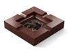 Marble - Dark Emperador (Polished), Cherry - Gunstock Walnut W247: