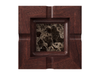Marble - Dark Emperador (Polished), Mahogany - Gunstock Walnut W247: