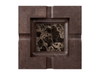 Marble - Dark Emperador (Polished), Maple - Gunstock Walnut W247: