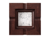 Marble - Statuarietto (Polished), Mahogany - Gunstock Walnut W247: