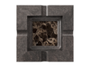 Marble - Dark Emperador (Polished), Maple - Black W240: