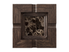 Marble - Dark Emperador (Polished), Oak - Black W240: