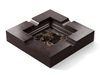 Marble - Dark Emperador (Polished), Walnut - Black W240: