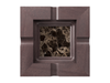 Marble - Dark Emperador (Polished), Mahogany - Grey W251: