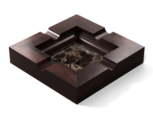 Marble - Dark Emperador (Polished), Walnut - Gunstock Walnut W247: