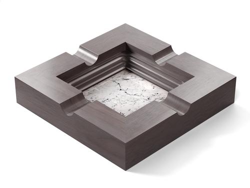 Marble - Statuarietto (Polished), Walnut - Grey W251: