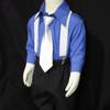 C581 Toddler Colour Elastic Suspender Braces 3 - 12 Years