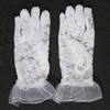 2070 Little Girls Lace Formal Gloves
