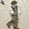TT9W Light Brown Page Boy Suit