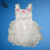 N002 Frilly and Floral Colour Party Dress