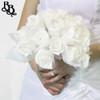L520 White Wedding Bouquet / Ornament with Diamante