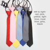301 Striped Colour Elastic Necktie