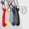 300 Striped Colour Elastic Necktie