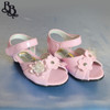 G292 Girls Floral Sandal Shoe with Light