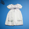 BU174 Baby Girls Floral Cotton Dress