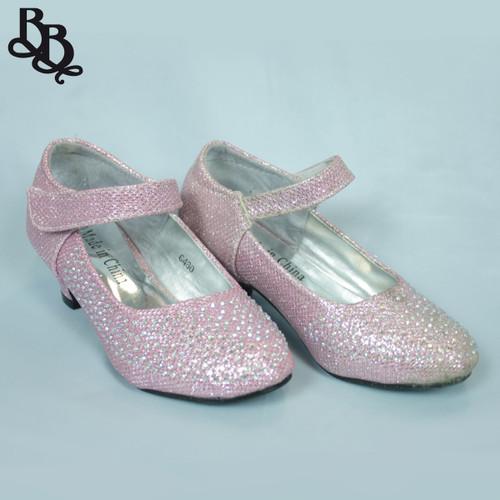 G460 Girls Sparkling Formal Shoe