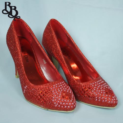 G463 Ladies Sparkling High Heel Shoe